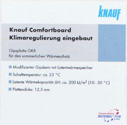 thermal mass knauf