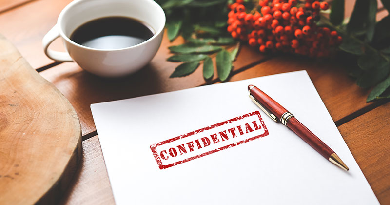 Confidentiality phase change